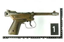 Zajištěná zbraň