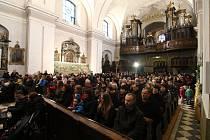 Půlnoční mše svatá v Ústí nad Orlicí