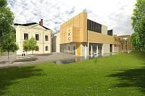 Vizualizace rekonstruovaného kulturného domu v Lanškourně