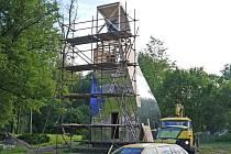 Neviditelný periskop na Tvrzi Orlice v Letohradu.