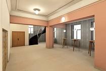 Foyer Šemberova divadla