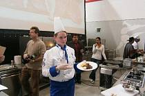 Lucie Cinková na Gastrofestu.