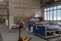 Výrobní prostory fitmy Jasobal v Klášterci nad Orlicí.
