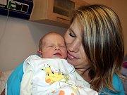 Tereza Kadidlová se narodila 8. 12. v 6.18 hodin Mileně a Tomášovi z Poličky. Na svět si přinesla váhu 2,870 kg. Bráška se jmenuje Matěj.