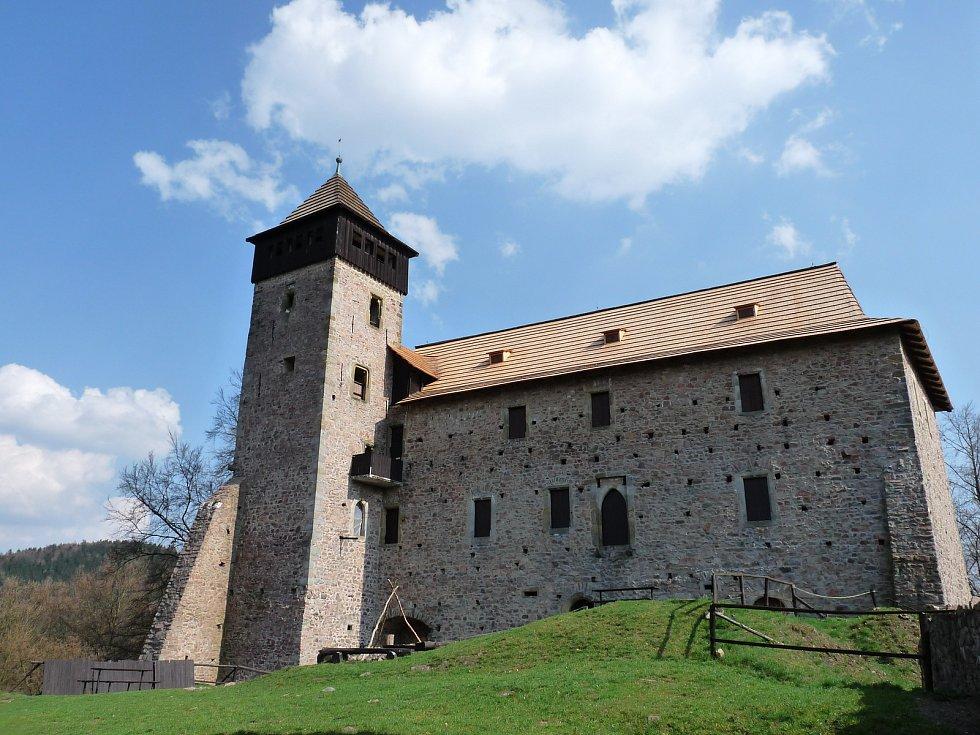 Státní hrad Litice se v úterý neotevře