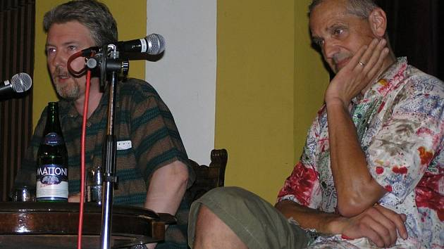 Radovan Lipus a David Vávra.