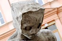 Kajícník - socha v Lanškrouně.