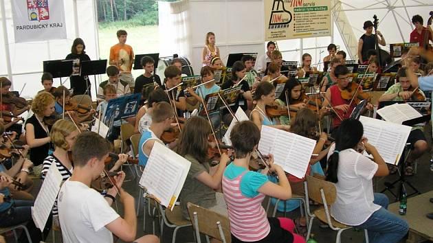 Český hudební tábor mládeže v Horním Jelení