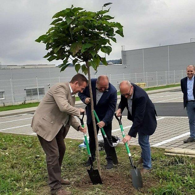 Nové parkoviště uOEZ vLetohradě.