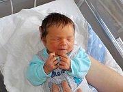 Matouš Toman přišel na svět dne 24. 11. v 13.47 hodin jako prvorozený syn Jany a Miroslava z Klášterce nad Orlicí. Při narození vážil 3220 g.