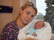 Alex Břehovský , tak pojmenovali syna Michaela a Marek z Ostrova. Na svět si  10. 12. v 1.09 hodin přinesl váhu 2,99 kg. Sestřička se jmenuje Karolínka.