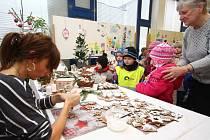 Vánoční výstava v Galerii pod radnicí v Ústí nad Orlicí.