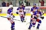 Krajská hokejová liga: HC Kohouti Česká Třebová - HC Chrudim.