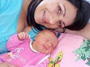 Magdaléna Vodehnalová se narodila s váhou 3400 g 16. 6. v 12.18 hodin Zuzaně Pachtové a Lubomírovi Vodehnalovi. Doma v Dolním Újezdě u Litomyšle se na ní těší sourozenci Eliška, Kateřina a Martin.