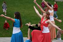 Oslavy Mezinárodního dne tance na ústecké Kociánce.