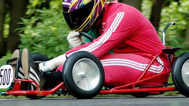 David Cepák z DTC Český Krumlov (na snímku) zvítězil v kategorii M5, v níž mohou startovat závodníci od 22 do 99 let.