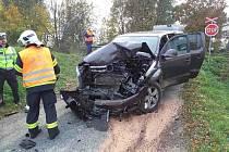 Nehoda se stala v obci Hrušová u Vysokého Mýta.