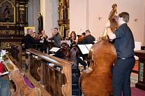 Koncert Mezinárodního hudebního festivalu 2017 v klášteře Hora Matky Boží v Králíkách.