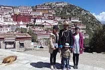 Z cesty po Tibetu.