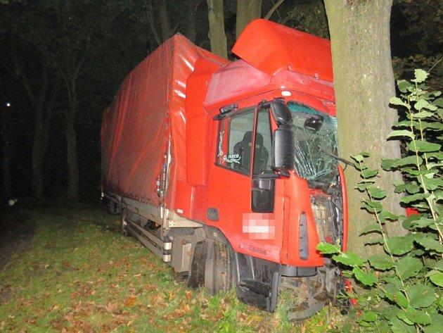 Nehoda vúseku Těchonín - Jablonné nad Orlicí.