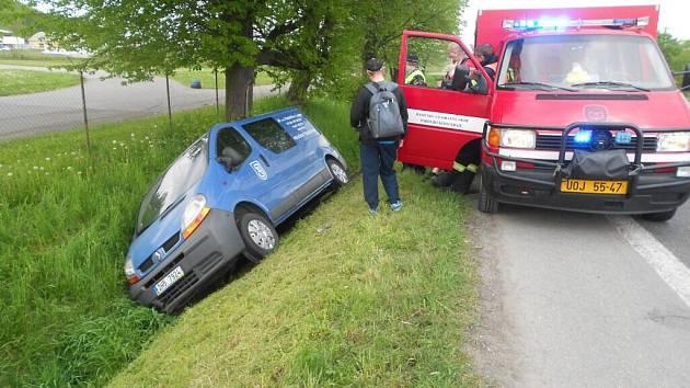Nehoda ve Vysokém Mýtě.