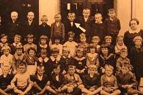 První třída, kterou navštěvoval Jan Špinler.