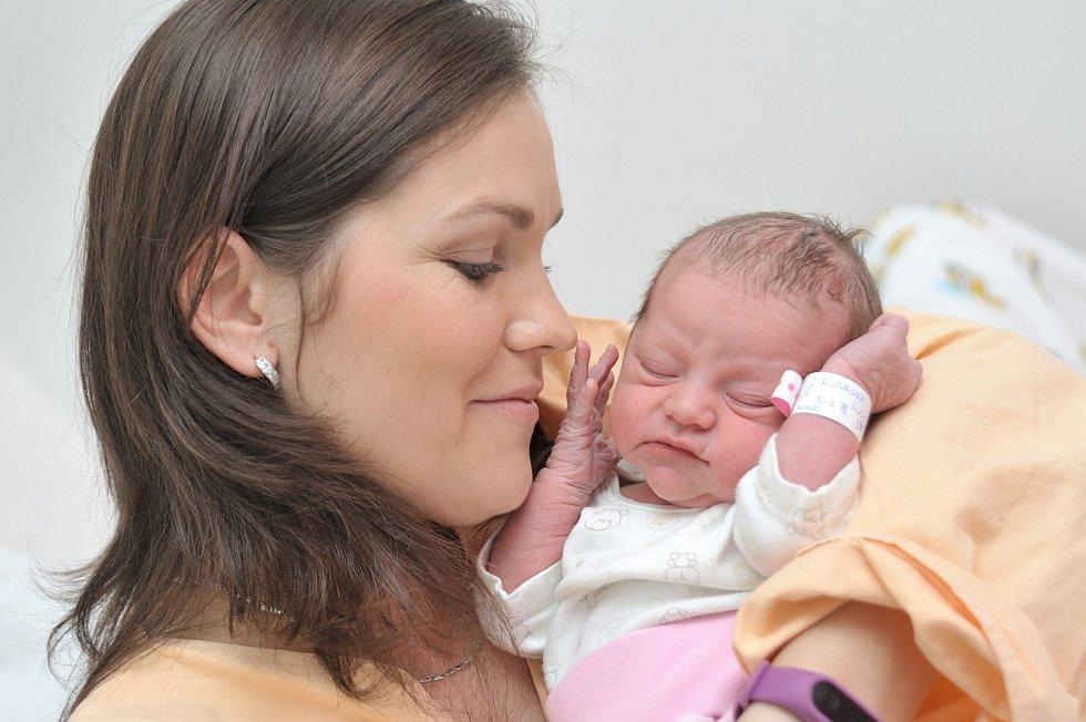 Lucie Kosková je po Kubíkovi druhým dítětem Jany a Jindry z Letohradu. Holčička se s váhou 3,160 kg narodila 10. 5. v 5.35 hodin.