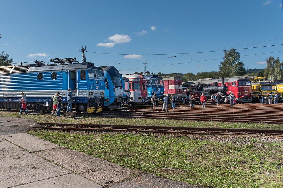 Den železnice 2019 v České Třebové-