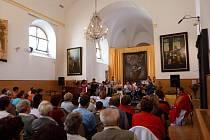 Tradiční pouť sv. Bartoloměje na Žampachu.