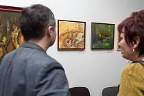 Marta Demelová vystavuje v České Třebové.