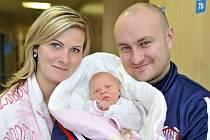 Amálie Jagošová je po Tadeášovi a Natálce dalším dítětem Markéty a Miroslava z Litomyšle. Když se 9. ledna v 17.55 hodin narodila, vážila 3,11 kilogramu.