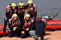Mistrovství záchranných týmů HZS Pardubického kraje a složek integrovaného záchranného systému na Pastvinách.