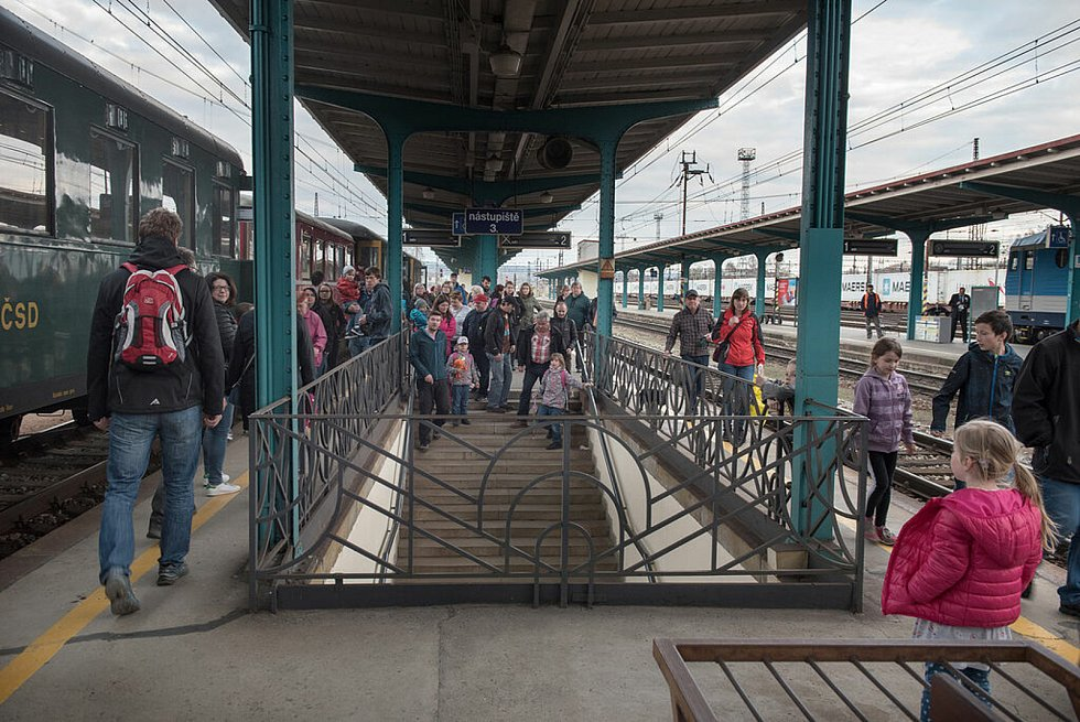 Zelezniční nádraží v České Třebové