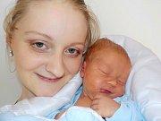 Antonín Sejkora bude po Karlíkovi doma v Litomyšli těšit rodiče Věru a Tomáše. Narodil se s váhou 3110 g dne 10. 2. v 5.52 hodin.