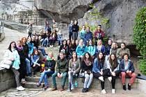 Studenti SŠUP vyrazili za památkami severních Čech a především saského Ojvína.