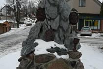 Pomník v D. Třebové.