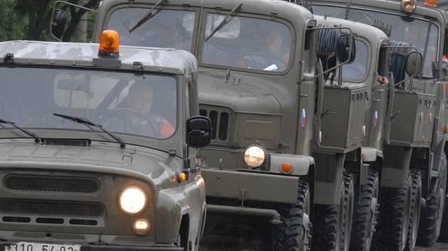 Vojenský záchranný prapor z Kutné Hory.