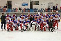 Vítězný tým po skončení turnaje o Pohár starostky města.