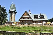 Kramářova chata. na Suchém vrchu.