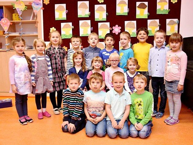 Žáci ze Základní školy Dolní Dobrouč.