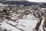Demolice výrobních hal v areálu bývalého textilního závodu Perla 01 v Ústí nad Orlicí jde do finiše.
