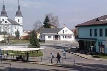 Autobusové nádraží v Žamberku.