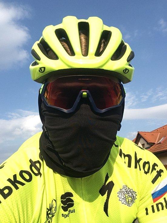 Cyklistika - nad rámec základního tréninku, spíše pro zábavu a vyvětrání v přírodě.