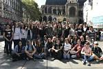 Studenti gymnázia v Ústí nad Orlicí poznávali Paříž.