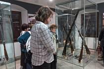 Výstava Lovecké zbraně východočeských puškařů.