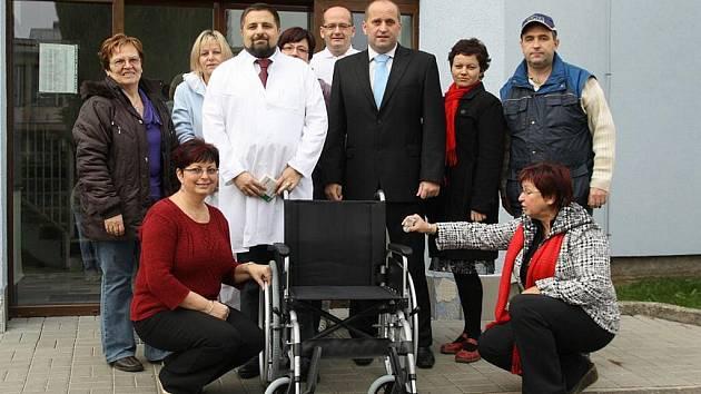 Nový vozík pro zdravotní středisko v Letohradě.