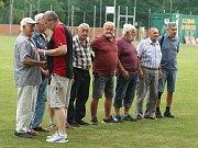 Oslava 70 let fotbalu v Kerharticích.