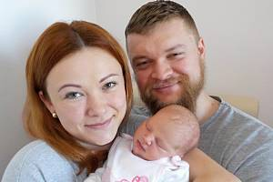 Aneta Mariková přišla na svět s váhou 3540 g dne 12. 4. v 9.37 hodin Anetě a Romanovi z Ústí nad Orlicí. Doma bude těšit brášky Románka a Adámka.