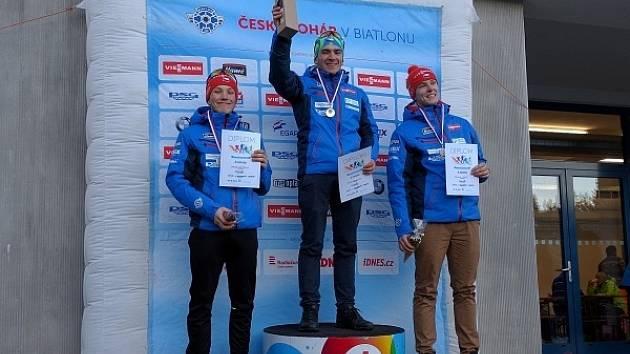 Stupně vítězů si užili i letohradští biatlonisté.
