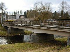Most v havarijním stavu. Ilustrační foto.